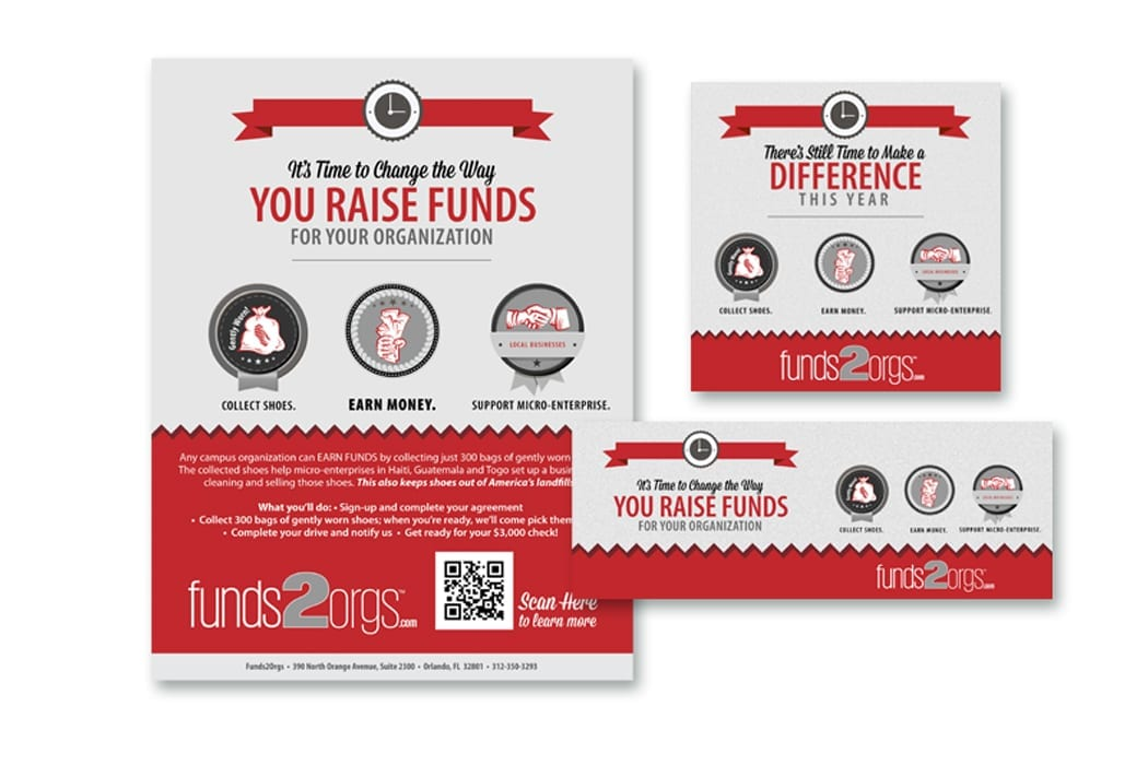 Funds2Orgs Advertising Campaign