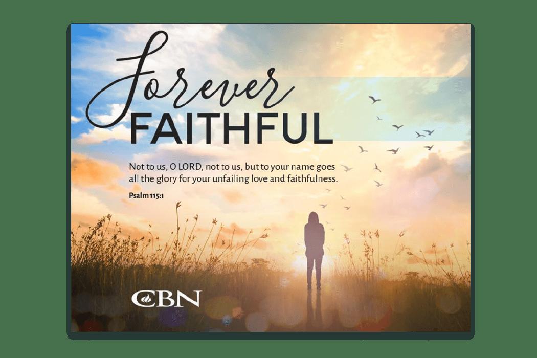 CBN Forever Faithful Booklet