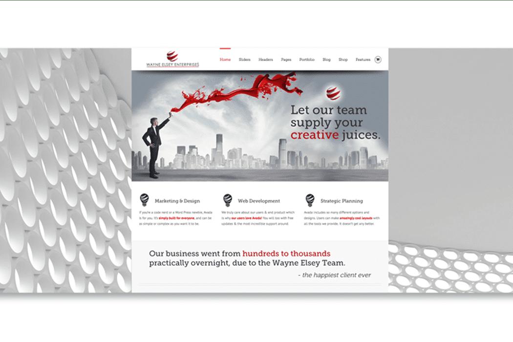 Elsey Enterprises Website Design