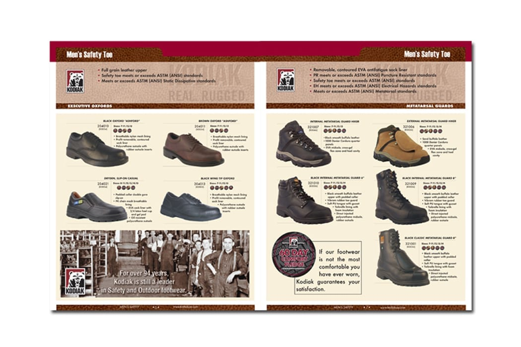 Kodiak Footwear Product Catalog
