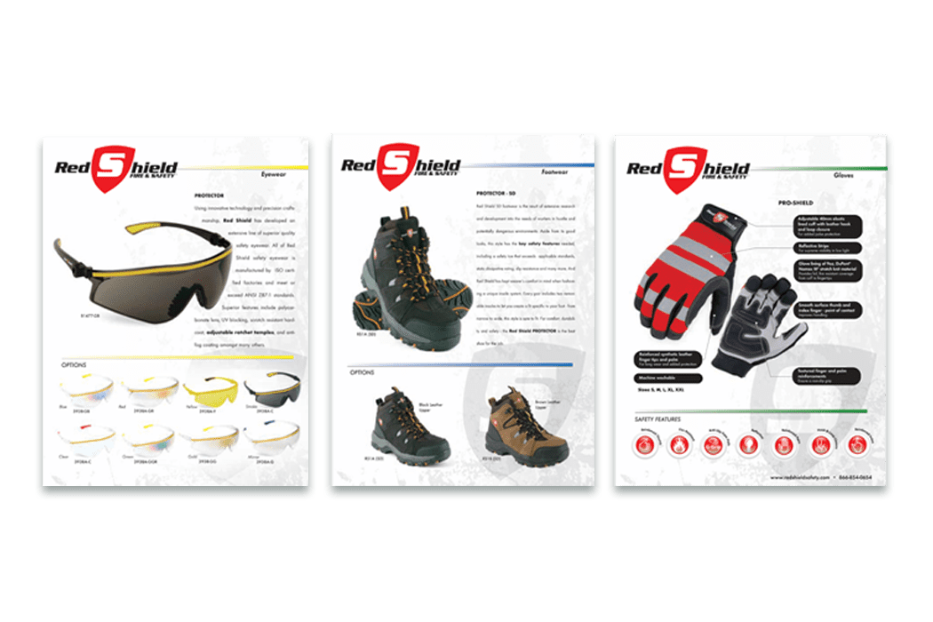 Red Shield Catalog Design