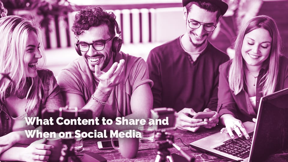 What Content to Share When on Social Media