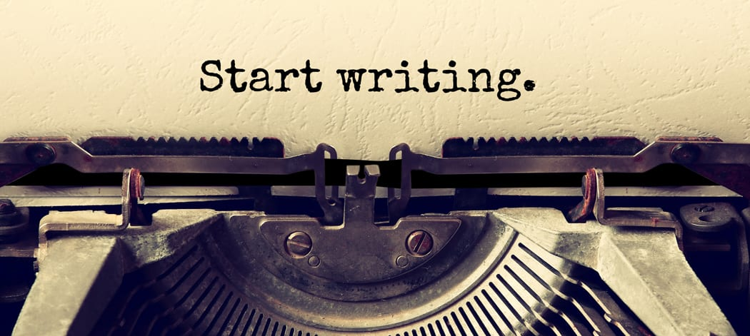 Start writing. Self-publish a book today.